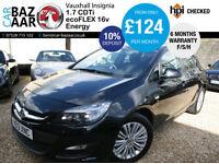 Vauxhall Astra 1.7CDTi 16v ecoFLEX Energy+F/S/H+OCT 17 MOT+6 M WARRANTY+2 KEYS+