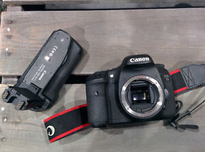 Used Canon 7D body