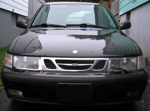 1999 Saab 9-3 base Hatch 5 speed <190k AS-IS, PARTS OR REPAIR