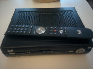 Bell Fibe Receiver with Remote Used - Perfect Working Condition