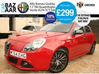 Alfa Romeo Giulietta 1750 TBi ( 240bhp ) ALFA TCT Quadrifoglio Verde+1OWNER+FSH