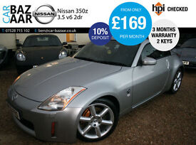 Nissan 350Z 3.5 V6 GT Pack+G/S/H+SEPTEMBER 2017 MOT+2 KEYS