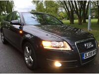 AUDI A6 2.7 Tdi Manual [6] 2008,Navigation, Heated seats,Leather,12 months Mot