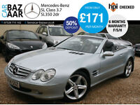Mercedes-Benz 3.7 auto SL350+F/S/H+AMG BODYSTLYING+ALLOYS+6 MONTH WARRANTY