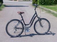"""Treck Black 8 speed 19"""" Bicycle"""