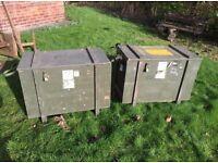 Military Ammunition Boxes