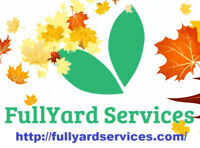 Fall Clean Ups - Includes Garden & Foliage Maintenance - October