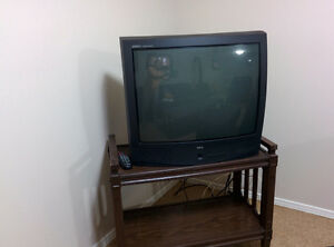 """27"""" TV with remote for sale"""