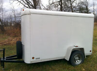 2003 stream line 5x10 trailer. 6 feet tall inside