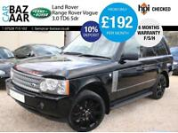 Land Rover Range Rover 3.0 Td6 auto Vogue+F/S/H+4 NEW TYRES+JULY 17 MOT+SAT NAV