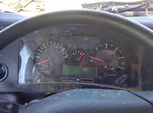 BLUE BIRD INSTRUMENT CLUSTER