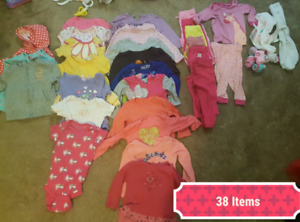 Baby Girls 12 Months. 45 Items