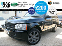 Land Rover Range Rover 3.6TD V8 auto Vogue+F/S/H+NAV+JUST SERVICED
