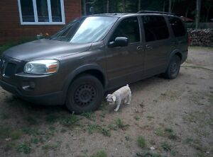 2005 Pontiac Montana sv6 extended 7 passagers $1100