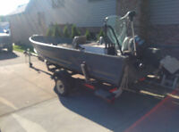Fishing Boat & Trailer for Sale