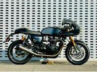 Triumph Thruxton 1200 1200 TFC (Carbon Fibre Black)