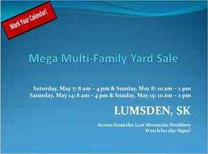 LUMSDEN Yard Sale - This Sale will be BIG....HUGE