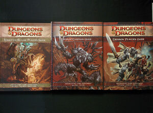 Dungeons & Dragons D&D 4e fourth Edition Campaign Books Lot