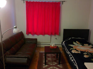 Furnished studio for lease-transfer by current tenant