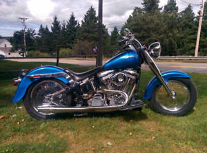 HARLEY DAVIDSON SOFTAIL LOW BOY***FULL CHROME***