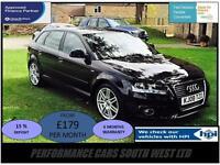 Audi A3 2.0 TDI S Line Sportback S Tronic 5dr £5,995 FSH,2 KEYS,6 MONTH WARRANTY