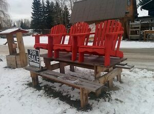 Rustic Furniture  and     Adirondack chairs