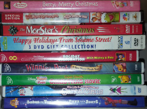 DVDs - Christmas Lot (Take all 9 for $10)