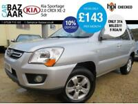 Kia Sportage 2.0CRDi 2WD XE+F/KIA/H+ONLY 31K MILES+