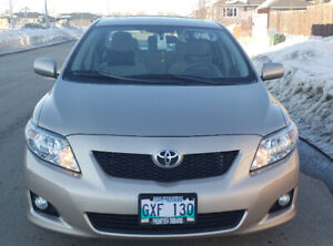 "2009 TOYOTA COROLLA LE ""TOP OF THE LINE "" SAFETIED- PERFECT CAR"