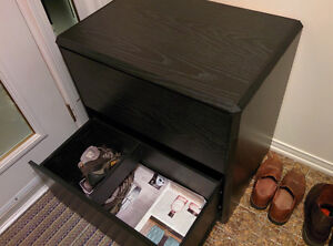 Black Chest of drawers or drawer chest NEW condition $60 West Island Greater Montréal image 4