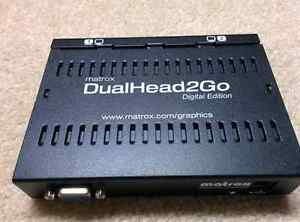 Matrox Dual Head 2 Go Digital Edition