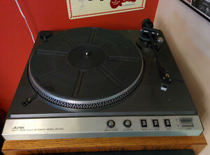 Aurex direct drive turntable by Toshiba