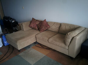 EQ3 L-Shaped Couch - $200 if you can pick up on Sunday