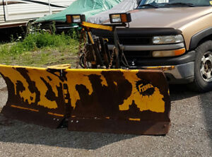 Plow for a pick up truck