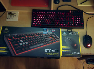 Corsair Strafe keyboard