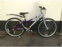 "LADIES RALEIGH MOUNTAIN BIKE 14"" FRAME £45"