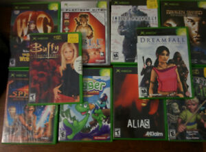 Lot of 10 XBox Games
