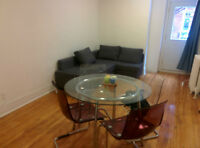 McGill appartment for rent with possibility of lease transfer