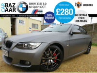 BMW 335i 3.0 ( 306bhp ) DCT M Sport+ONLY 40K MILES+F/S/H+6K EXTRAS+CARBON WRAP