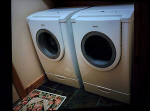 Apartment size Bosch washer and dryer