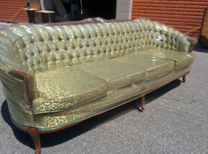 Original French Provincial Sofa and Chair in great condition