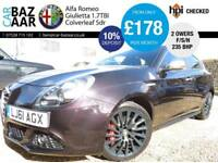 Alfa Romeo Giulietta 1.8 ( 235bhp ) 1750 TBI Cloverleaf+F/S/H+NEW CAMBELT+2OWNER