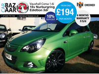 Vauxhall Corsa 1.6i 16v Turbo VXR Nurburgring Edition+F/S/H+2 OWNERS+2 KEYS