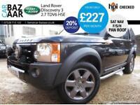 Land Rover Discovery 3 2.7TD V6 auto HSE+F/S/H+SAT NAV+SIDESTEPS