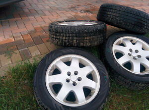 2001-2010 PT Cruiser OEM Used Rims with Nokian Tires (set of 4)