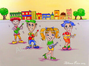 Childrens Book illustrator and Caricature Artist Available. St. John's Newfoundland image 8