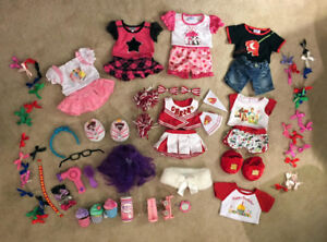 Build a Bear Clothing Bundle - Gently Played Condition