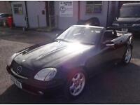 2002 (02) Mercedes-Benz SLK230 Kompressor Convertible Black