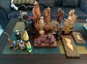 Quebec Carvings