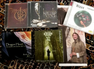 Cds Brand New Condition. $5 each or Bundled.
